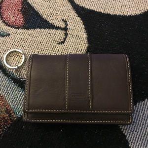 Coach keychain wallet NEW